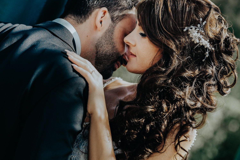 Brautpaar in Herrenhäuser Gärten in Hannover